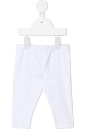 Emporio Armani Logo-print cotton leggings