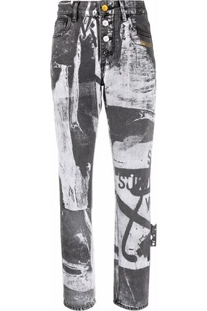 OFF-WHITE X Pablo Tomek high-waisted trousers