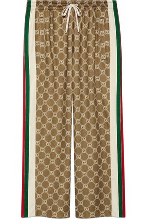 Gucci Interlocking G drawstring track pants
