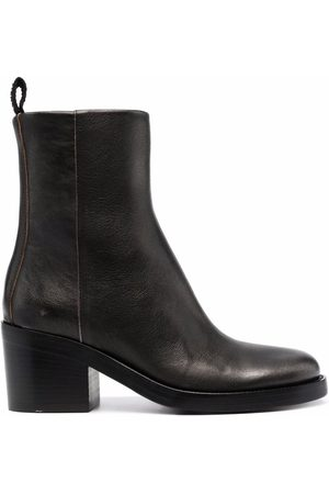 Buttero Faded-leather ankle boots