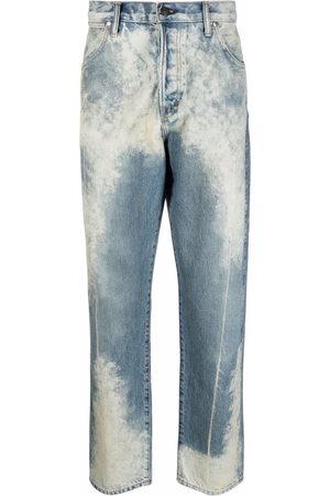 Tom Ford Acid wash tapered jeans