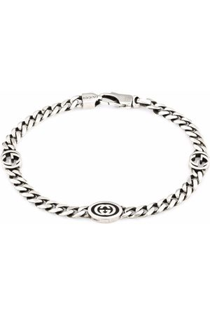 Gucci Men Bracelets - Interlocking G bracelet