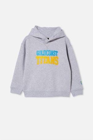NRL Hoodies - Kids Embroidered Hoodie - Titans