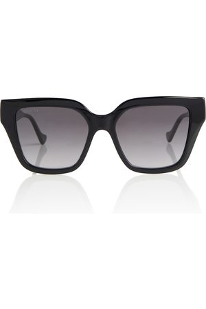 Gucci Logo-detailed square sunglasses