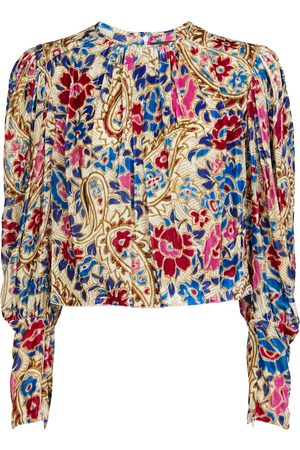 Isabel Marant Miameline printed blouse