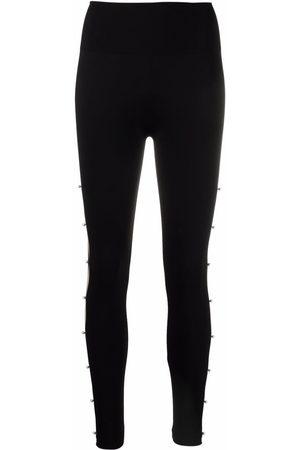 Wolford Women Leggings - Linda cut-out leggings