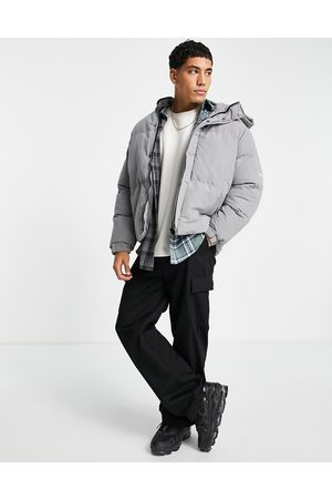 Good For Nothing Boxy puffer jacket in