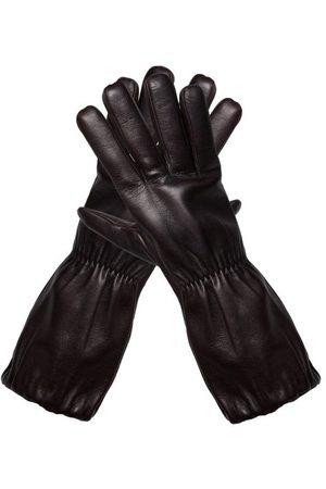 Bottega Veneta Men Gloves - Elongated-cuff Nappa-leather Gloves - Mens