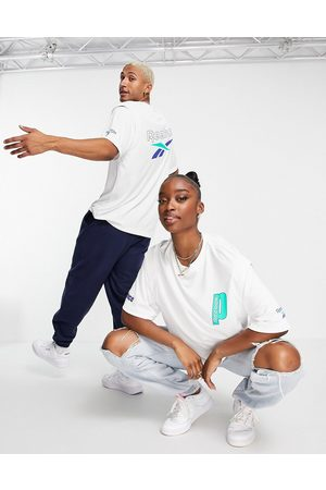 Reebok X Prince unisex oversized t-shirt with back print in
