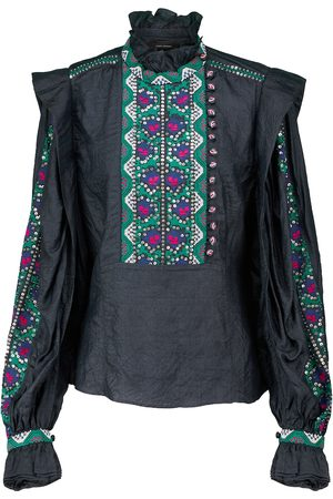 Isabel Marant Chandrali silk crêpe blouse