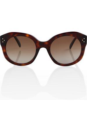 Céline Tortoiseshell round sunglasses