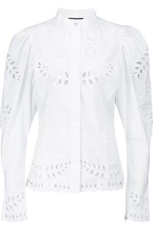 Isabel Marant Women Blouses - Danala broderie anglaise blouse