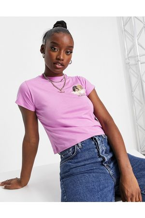 Fiorucci Relaxed t-shirt with angel graphic in