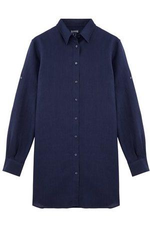 Vilebrequin Long Linen Shirt Solid