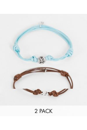 Classics 77 2 pack cord adjustable bracelets in