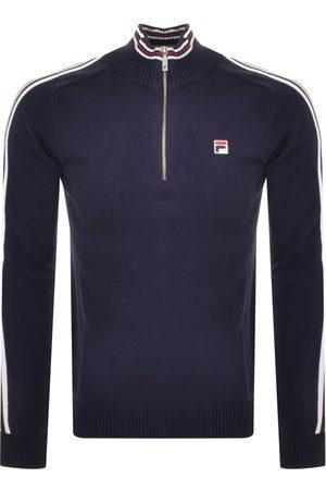 Fila Men Sweatshirts - Nathaniel Half Zip Sweatshirt