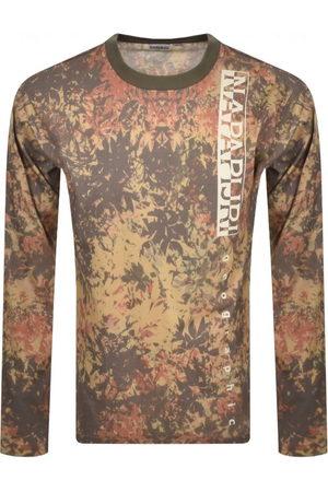 Napapijri Men Long Sleeve - S Carpino Long Sleeve T Shirt