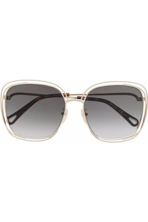 Chloé Oversize frame sunglasses