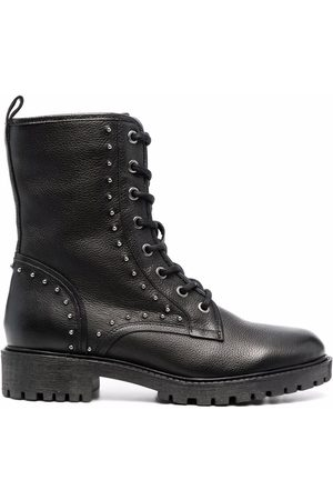 Geox Stud embellishment lace-up boots
