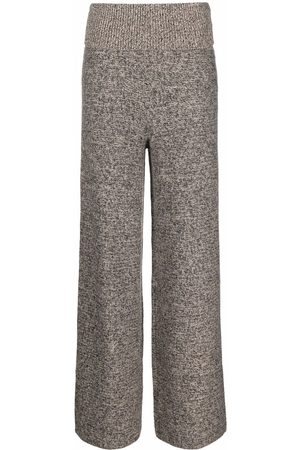 OFF-WHITE Languid wide-leg trousers