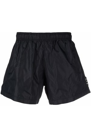 OFF-WHITE Hands Off logo tag deck shorts