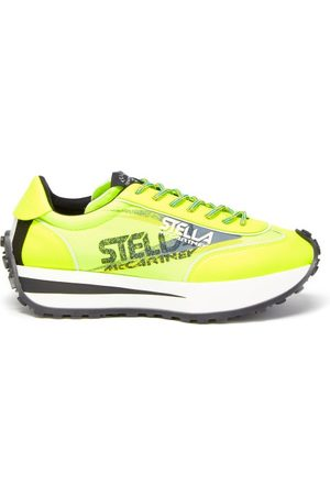Stella McCartney Reclypse Recycled-fibre Canvas Trainers - Womens