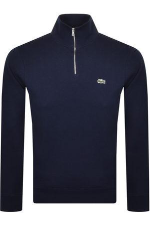 Lacoste Men Sweatshirts - Half Zip Logo Sweatshirt