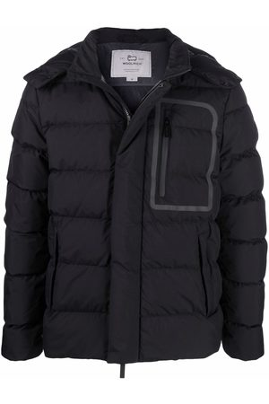 Woolrich Giubbotto hooded down-padded jacket