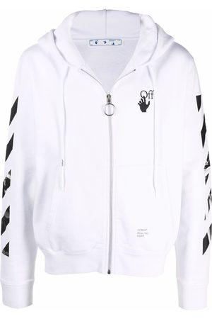 OFF-WHITE Men Hoodies - Arrows zipped hoodie