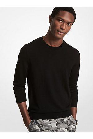 Michael Kors Men Sweaters - MK Merino Wool Sweater - - Michael Kors