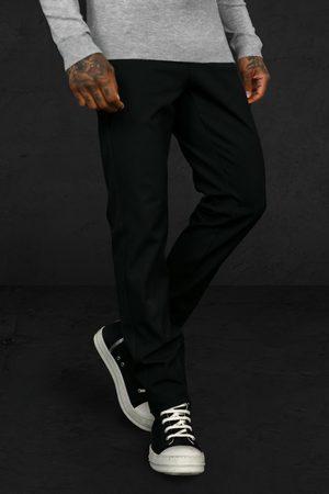 Boohoo Men Formal Pants - Mens Slim Zip Hem 4 Way Stretch Tailored Trouser