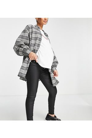 River Island Women Skinny - Molly Joyride over bump skinny jeans in