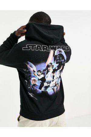 ASOS Hoodie with Star Wars back prints in