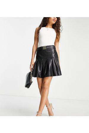 River Island Pleated mini skirt in