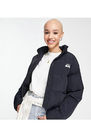 Quiksilver Cropped puffer jacket in Exclusive to ASOS