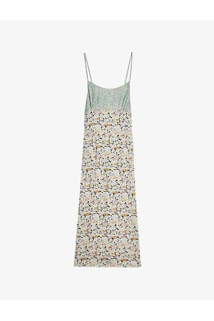 Ted Baker Fileyy floral-print woven midi dress