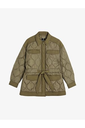 Ted Baker Women Winter Jackets - Leeonie quilted woven jacket