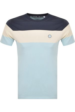 Pretty Green Men Short Sleeve - Tilby Colour Block T Shirt