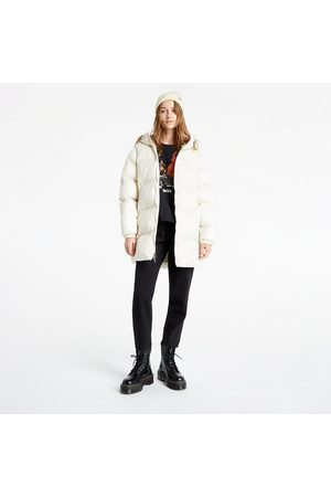 Columbia Puffect™ Mid Hooded Jacket Chalk