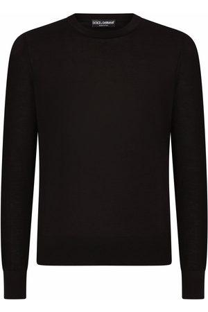 Dolce & Gabbana Men Sweatshirts - Cashmere crew neck jumper