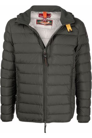 Parajumpers Men Winter Jackets - Hooded zip-up puffer jacket