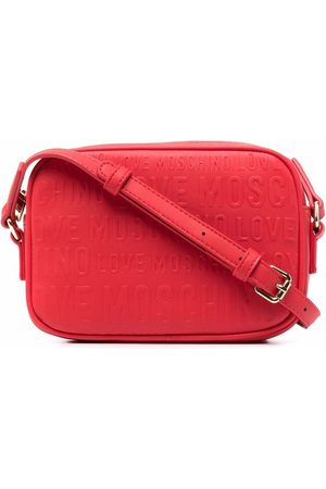 Love Moschino Logo-debossed crossbody bag