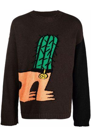 Opening Ceremony Cactus Dog jacquard-knit jumper