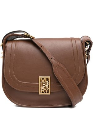 MULBERRY Logo-plaque leather satchel bag