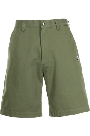 A Bathing Ape Wide-leg Bermuda shorts