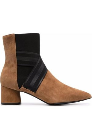 Pollini Two-tone ankle boots