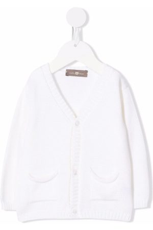 LITTLE BEAR Buttoned-up wool cardigan