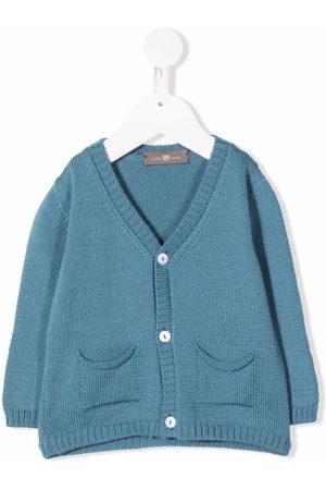 LITTLE BEAR Button-down knit cardigan