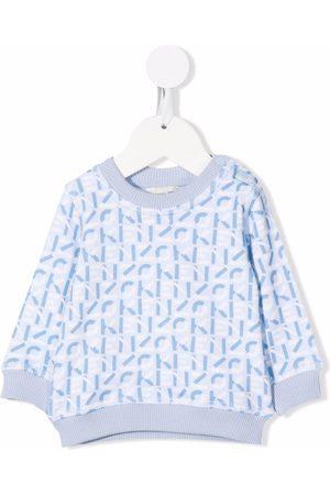 Kenzo Monogram-print fleece sweatshirt
