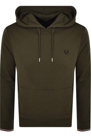 Fred Perry Tipped Logo Hoodie